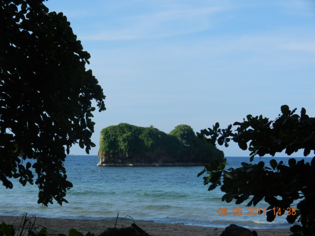 View of Cocles Beach