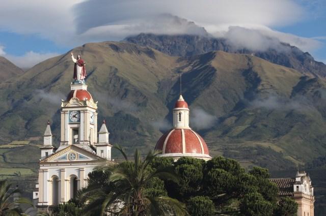 Mt Cotacachi, Ecuador